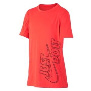 "NWT. Nike Boys' ""Just Do It"" Tee."